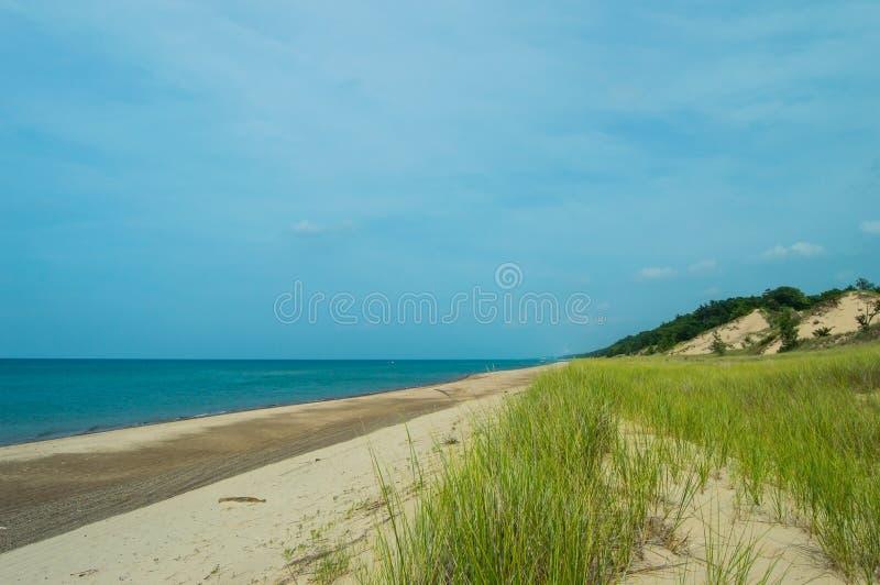 Indiana-Düne-Staatsangehöriger Lakeshore lizenzfreies stockfoto