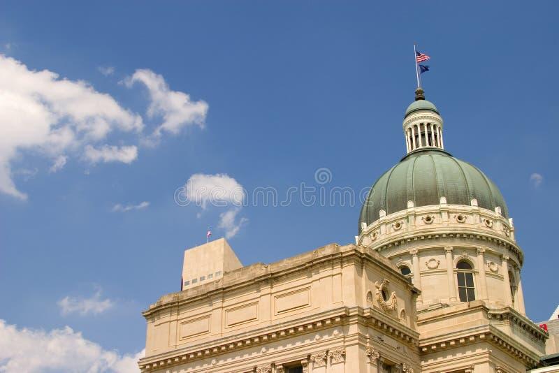 Indiana-Hauptgebäude lizenzfreies stockbild