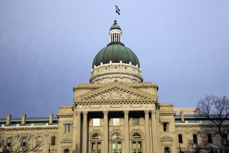 Indiana, Indianapolis - het Capitool van de Staat royalty-vrije stock foto