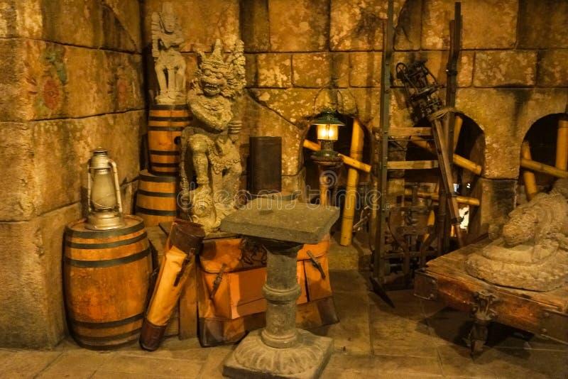Indiana Jones Disneyland immagini stock libere da diritti