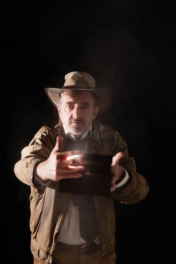 Indiana Jones fotografia stock