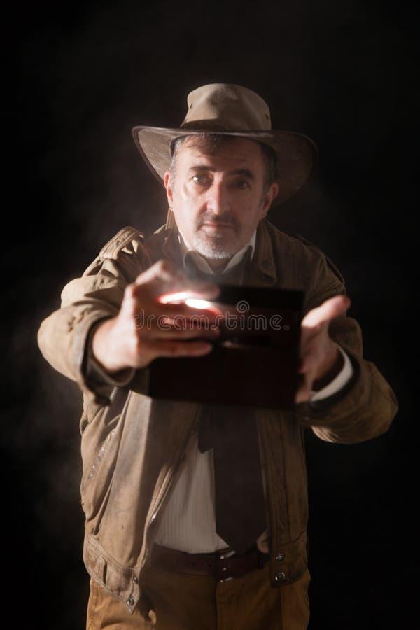 Indiana Jones obraz stock