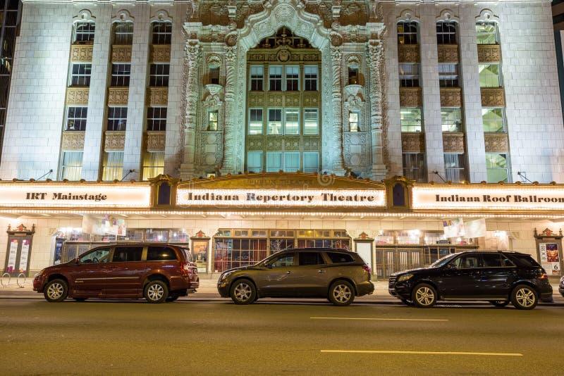 Indiana Repertory Theatre stock photo
