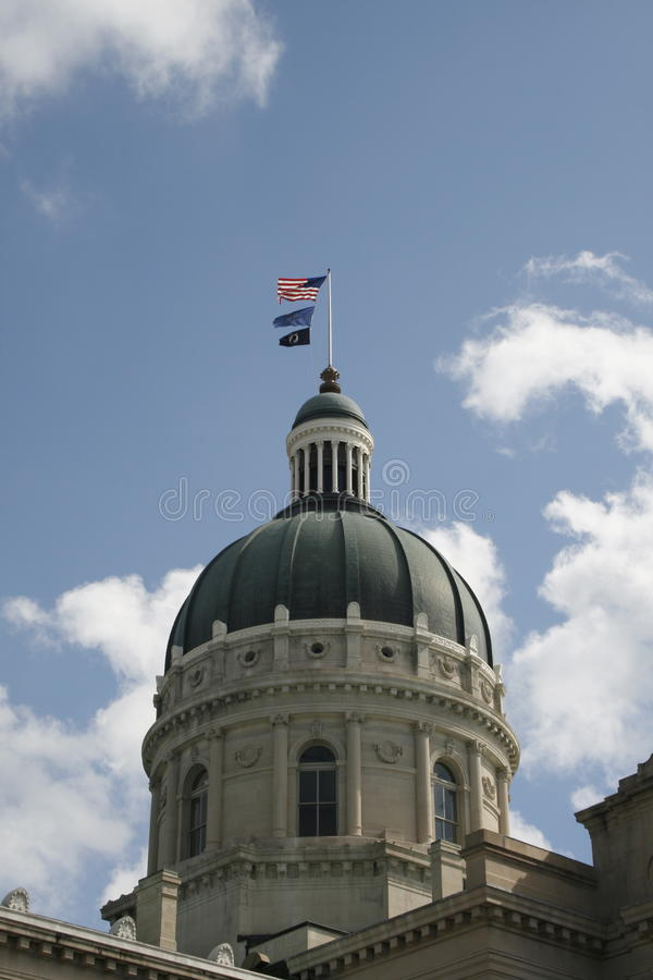 Indiana State Capitol Building stock photography
