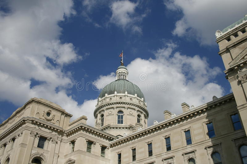 Indiana State Capitol Building stock photo