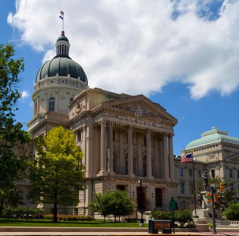 Indiana State House fotografie stock