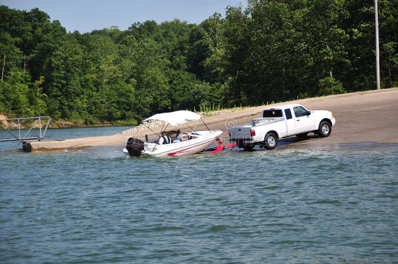 Indiana usa na łodzi obrazy royalty free