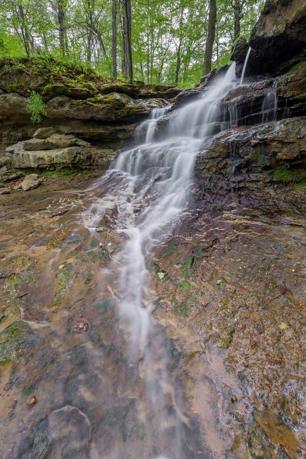 Indiana Waterfall pequena imagem de stock