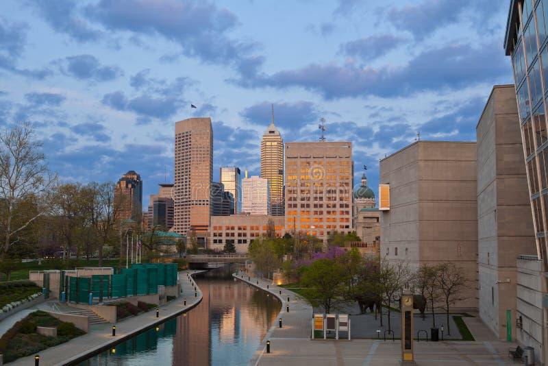 Indianapolis. stock afbeeldingen