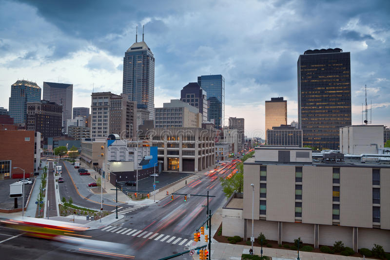 Indianapolis. royalty-vrije stock afbeeldingen