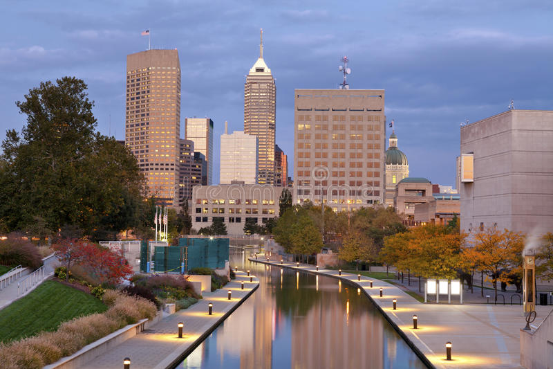 Indianapolis. stockbilder