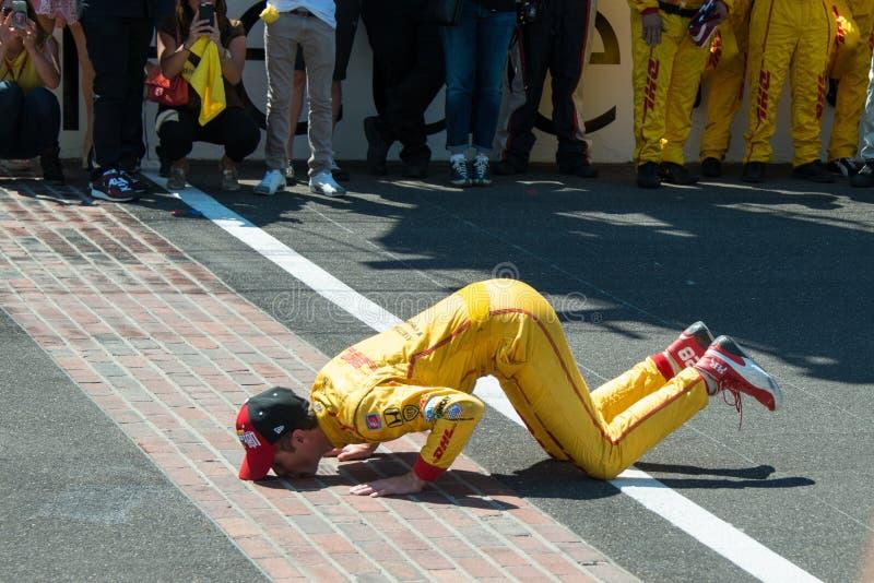 Indianapolis 500 2014 stock foto's