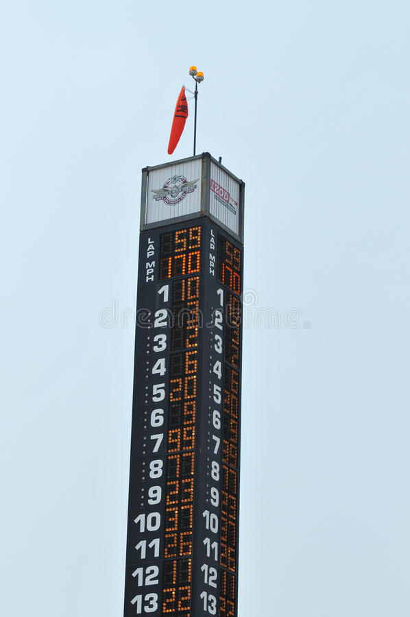 Indianapolis 500 stockbild