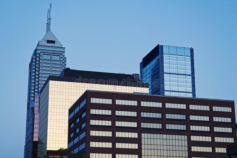 Indianapolis-Architektur stockfotografie