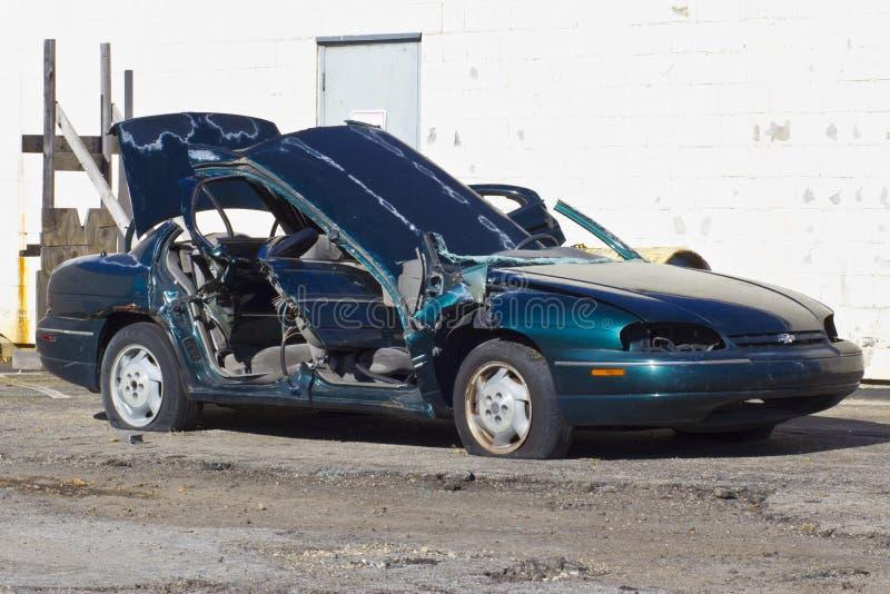 Indianapolis - cerca do novembro de 2015: Automóvel totalizado após Dru fotos de stock royalty free