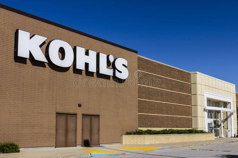 Indianapolis - Circa August 2016: Kohl's Retail Store Location. Kohl's operates over 1,100 Discount Stores IV. Kohl's Retail Store Location. Kohl's operates over stock photo