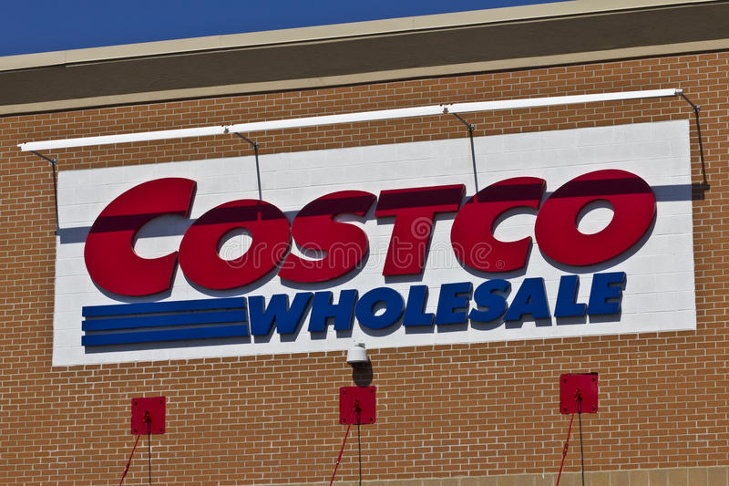 Indianapolis - circa im April 2016: Costco-Großhandel-relative Satznummer III lizenzfreies stockbild