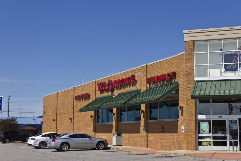 Indianapolis - Circa July 2016: Walgreens Retail Location III stock image