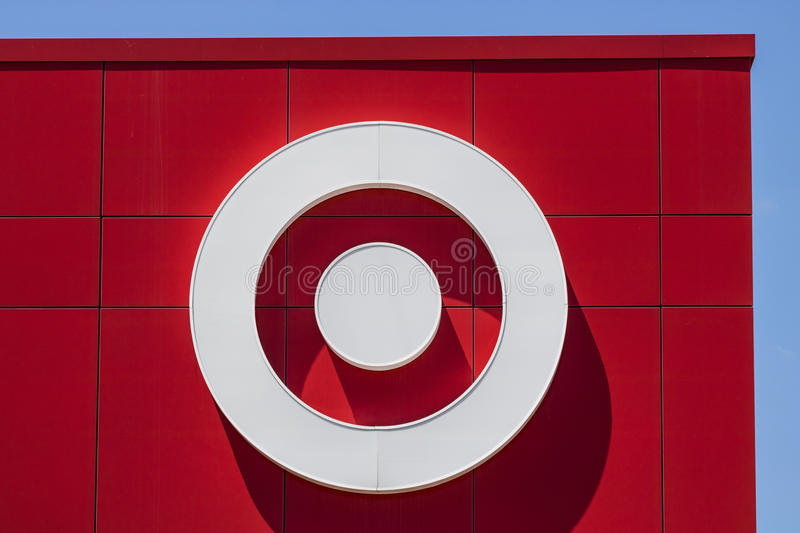 Indianapolis - Circa June 2017: Target Retail Store. Target Sells Home Goods, Clothing and Electronics XVI. Target Retail Store. Target Sells Home Goods royalty free stock photos