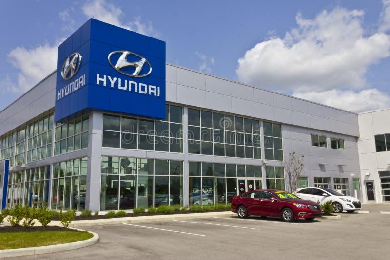 Indianapolis - Circa May 2016: Hyundai Motor Company Dealership III royalty free stock photo