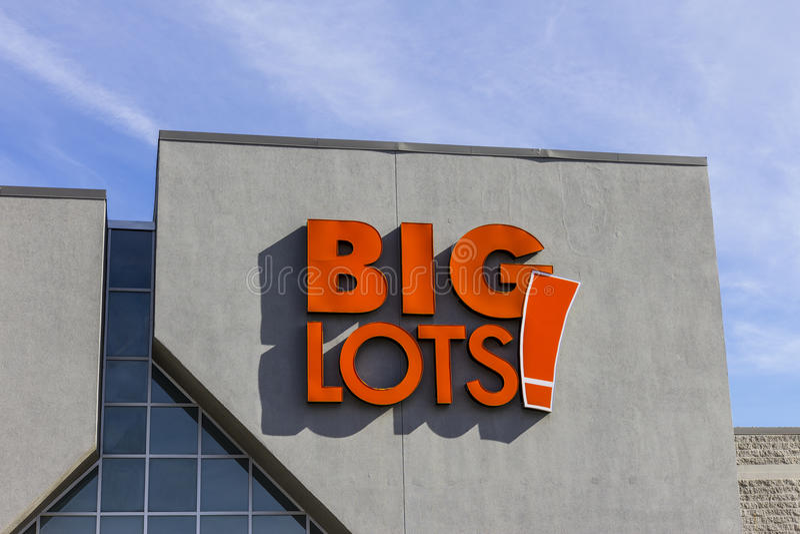 Indianapolis - Circa November 2016: Big Lots Retail Discount Location. Big Lots is a Discount Chain III. Big Lots Retail Discount Location. Big Lots is a royalty free stock photos