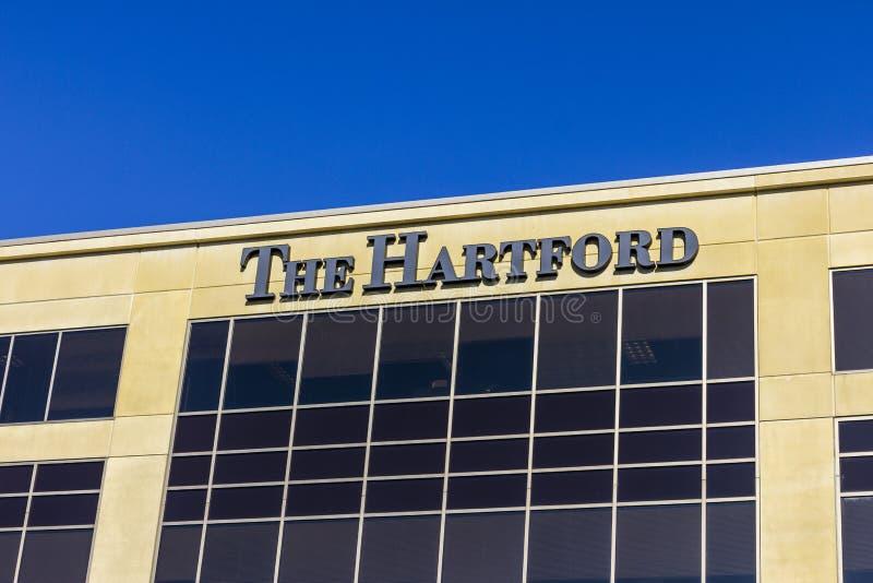 Indianapolis - Circa November 2016: The Hartford Financial Services Group Indiana Office I. The Hartford Financial Services Group Indiana Office I stock photos
