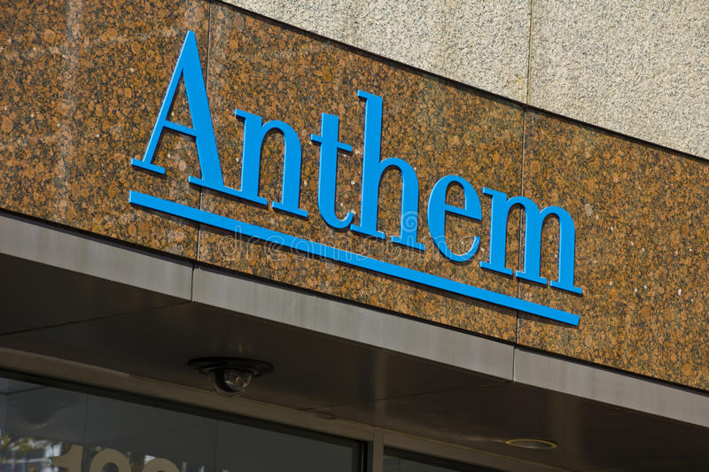 INDIANAPOLIS - CIRCA OCTOBER 2015: Anthem World Headquarters, Indianapolis,. IN II stock photo