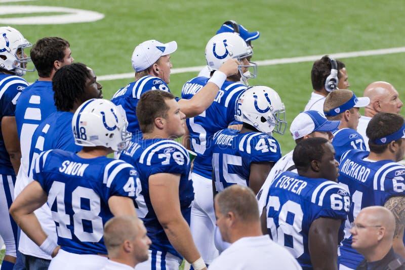 Indianapolis Colts lizenzfreie stockfotografie