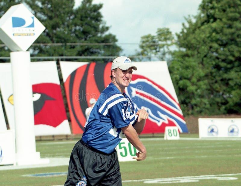 Download Indianapolis Colts QB Peyton Manning Immagine Editoriale - Immagine di concorrenza, scorrevole: 117977665