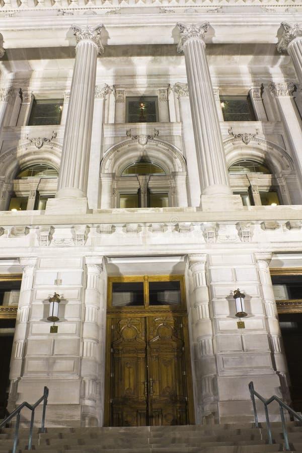 Indianapolis, Indiana - Capitólio do estado imagem de stock royalty free