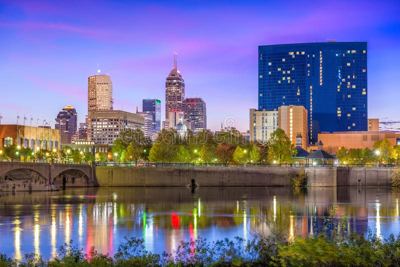 Indianapolis, Indiana, de V.S. stock foto
