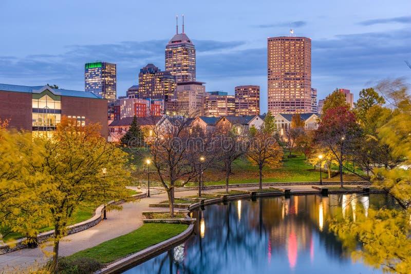 Indianapolis, Indiana, EUA fotos de stock royalty free