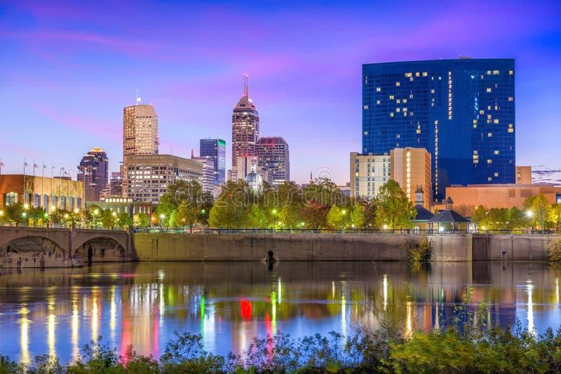 Indianapolis, Indiana, EUA foto de stock
