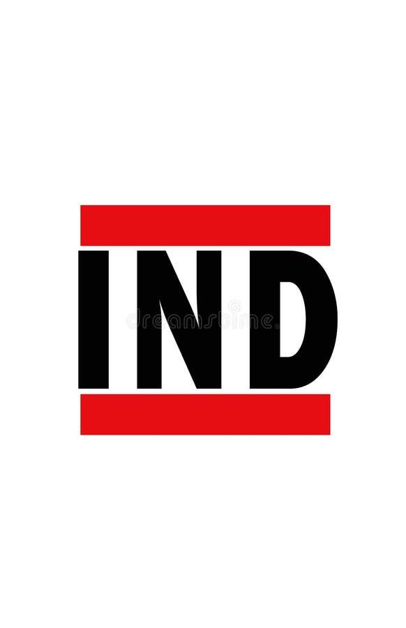 Indianapolis, Indiana royalty-vrije illustratie