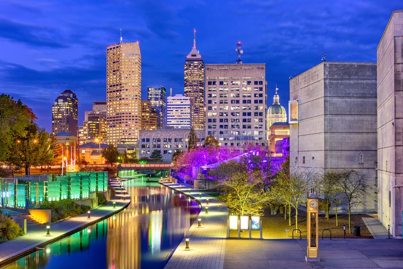 Indianapolis, Indiana, USA lizenzfreie stockbilder