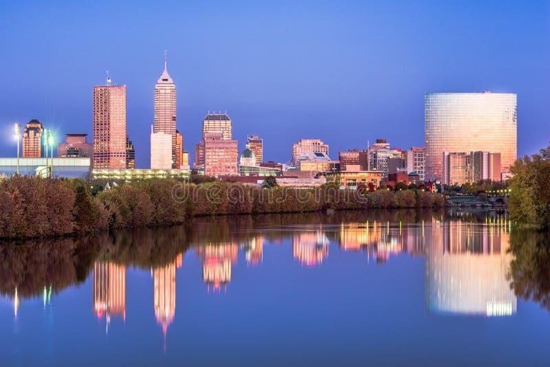 Indianapolis Indiana, USA royaltyfria foton
