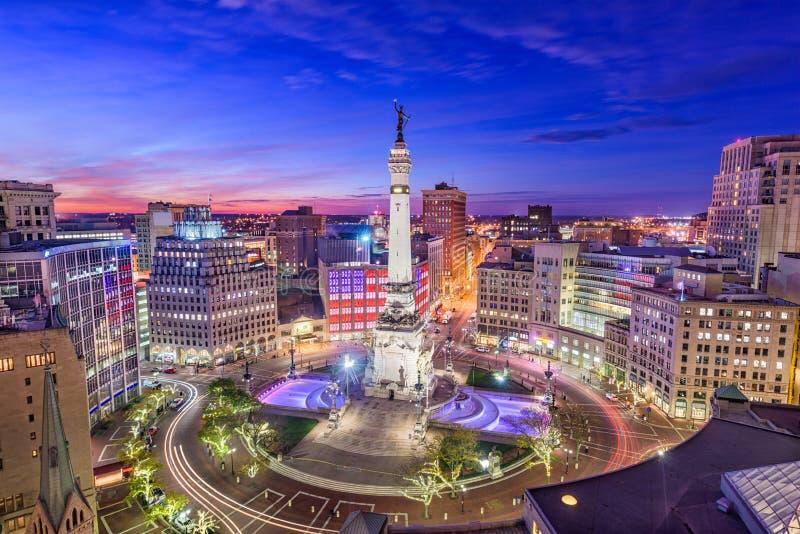 Indianapolis Indiana, USA arkivbild