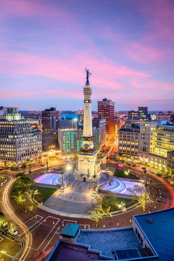 Indianapolis, Indiana, USA lizenzfreie stockfotos