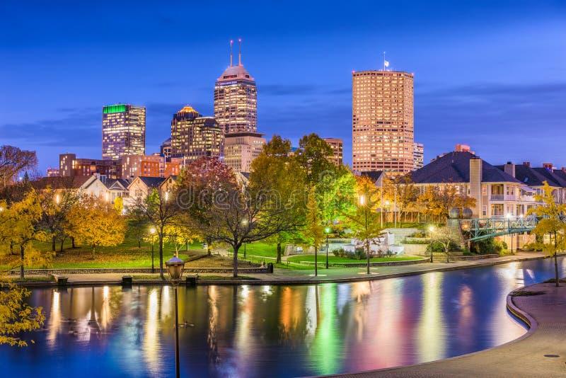 Indianapolis, Indiana, usa fotografia royalty free
