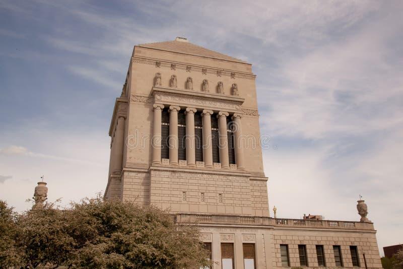 Indianapolis-Kriegs-Denkmal lizenzfreie stockfotos