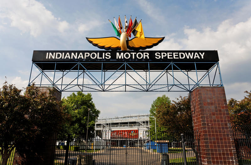 Indianapolis Motor Speedway stock foto's