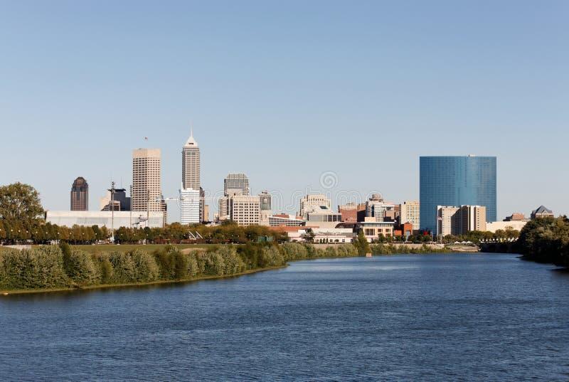 Indianapolis-Skyline stockbilder