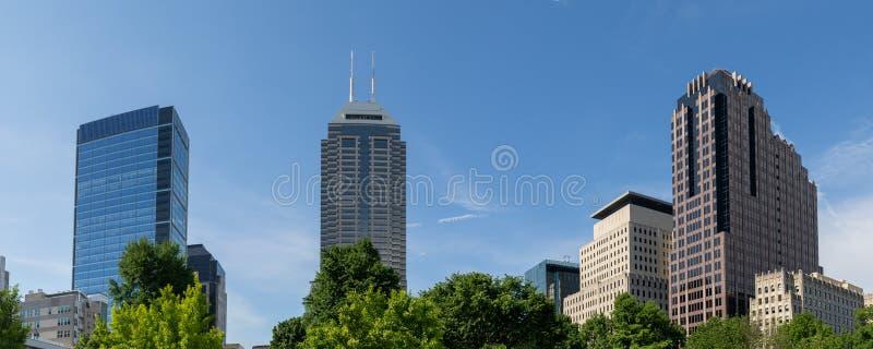Indianapolis-Stadtbild lizenzfreie stockfotografie