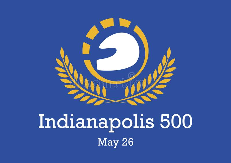 Indianapolis 500 vector stock illustratie