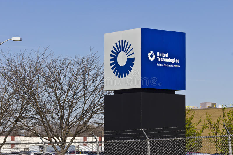 Indianapolis - vers en mars 2016 : Usine I d'United Technologies images stock