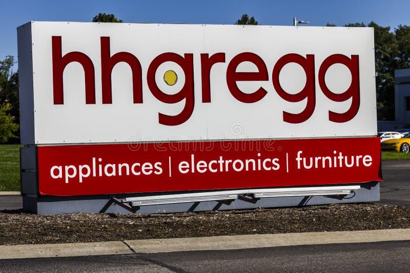 Indianapolis - vers en octobre 2016 : sièges sociaux d'entreprise de hhgregg le hhgregg est un détaillant d'électronique grand pu photo stock