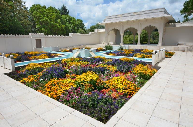 Indianin Przypala Bagh ogród w Hamilton ogródach - Nowa Zelandia fotografia stock
