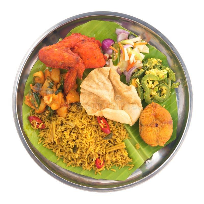 Indianina Biryani ryż fotografia stock