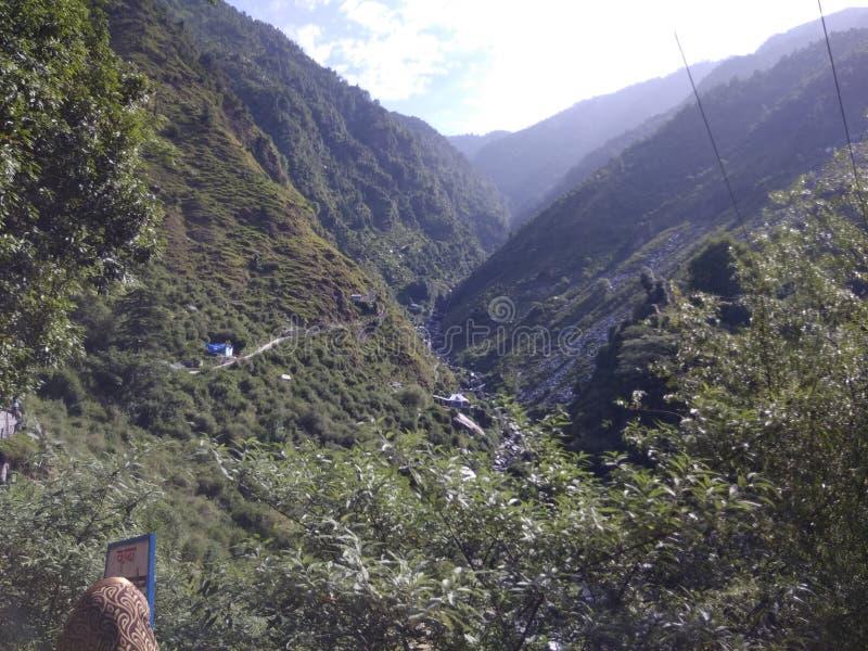 Indianina Himaliyan dolina zdjęcia royalty free