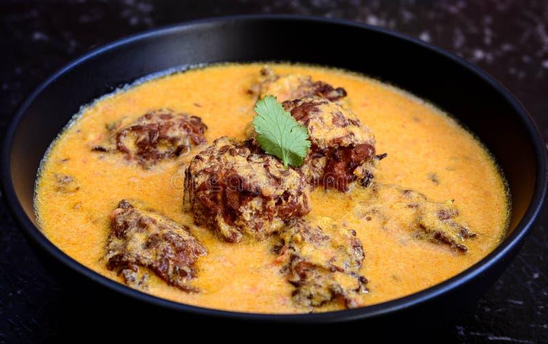 Indianina Kofta curry obraz royalty free